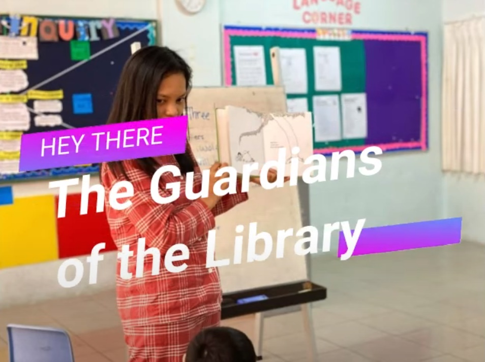 Hey There The Guardians of The Library