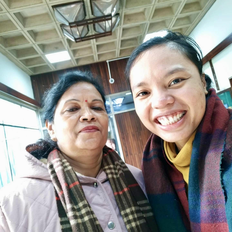 Pustakawan Mendunia dengan Ibu Rita Singh